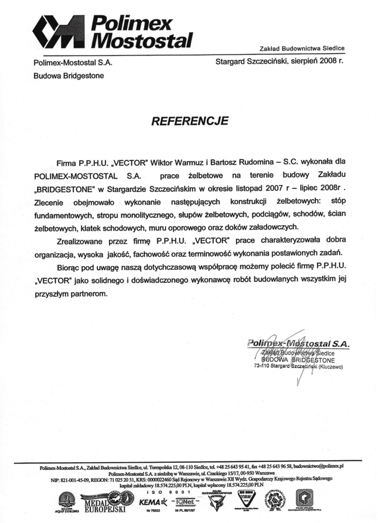 referencje-POLIMEX-MOSTOSTAL